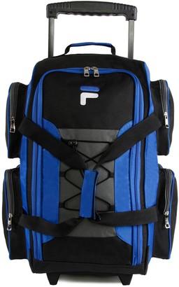 Fila 22-Inch Lightweight Wheeled Duffel Bag