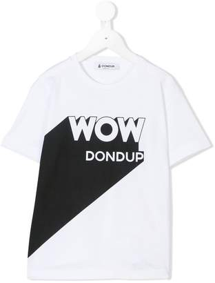 Dondup Kids Wow print T-shirt