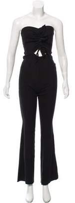 Bec & Bridge Strapless Wide-Leg Jumpsuit w/ Tags