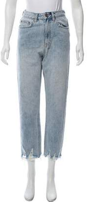 Ksubi Distressed High-Rise Jeans