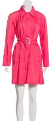 Prada Sport Knee-Length Long-Sleeve Coat