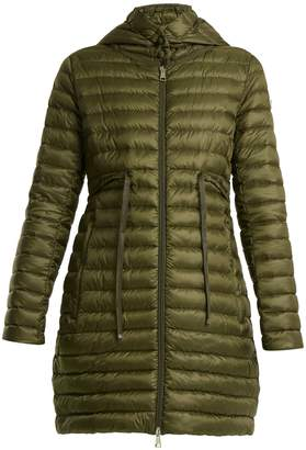 Moncler Barbel quilted down hooded coat