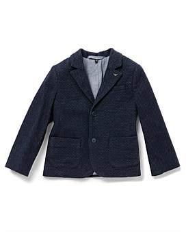 Armani Junior Fantasia Blue Jacket