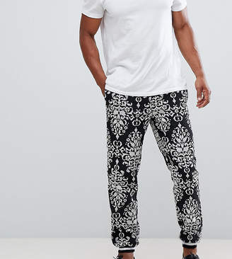Reclaimed Vintage inspired baroque woven joggers