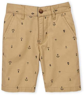 5f25669ab1 Nautica Boys 8-20) Tim Anchor Print Twill Shorts