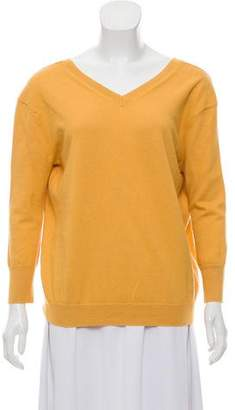 Etoile Isabel Marant V-Neck Rib Knit Sweater