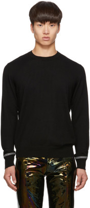 Givenchy Black Wool Webbing Sweater