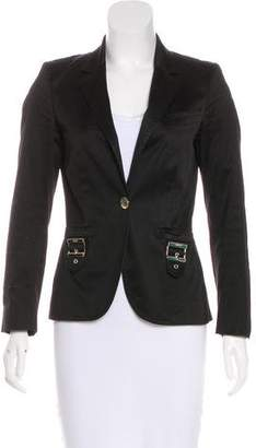 Gucci Notched-Lapel Button-Up Blazer