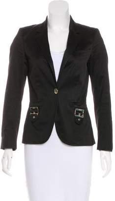 Gucci Notched-Lapel Button-Up Blazer