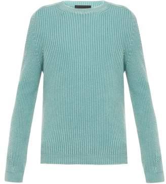 Iris von Arnim Jackson Cashmere Sweater - Mens - Blue