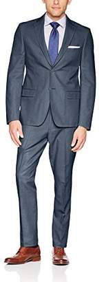 Calvin Klein Men's Mobridge Single Breast 2 Button Suit