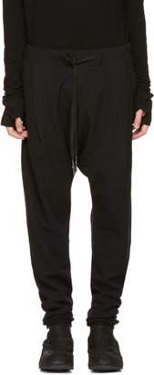 Nude:mm Black Low Drawstring Lounge Pants