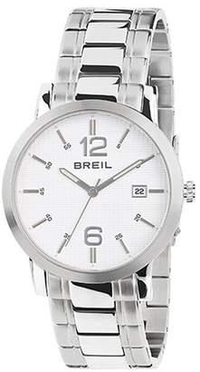Breil Milano Men's 42mm Steel Bracelet & Case Quartz Dial Analog Watch TW1456