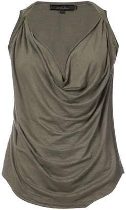 Urban Zen cowl neck sleeveless top