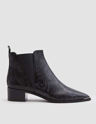 Acne Studios Jenson Floral Boot in Black
