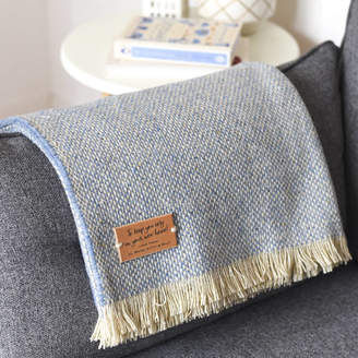 Delightful Living Personalised Blanket Or Throw