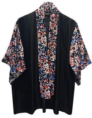 Laundry by Shelli Segal Confetti Garden Kimono