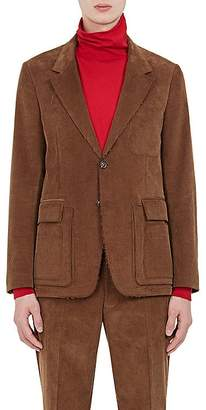 Maison Margiela Men's Raw-Edge Corduroy Two-Button Sportcoat