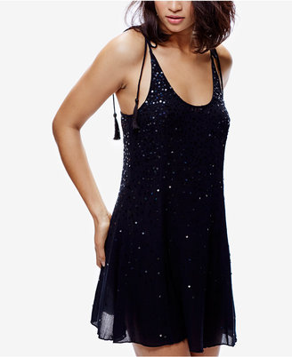 Free People Embellished Slip Dress $88 thestylecure.com