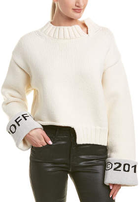 Off-White OFF WHITE Off White Wool-Blend Sweater