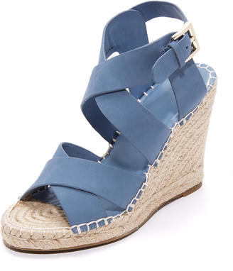 Joie Kaelyn Wedge Sandals $278 thestylecure.com