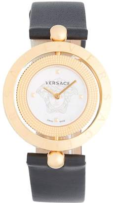 Versace Women's Stainless Steel Buckled Strap Watch