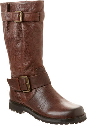 Gentle Souls Buckled Up Leather Boot