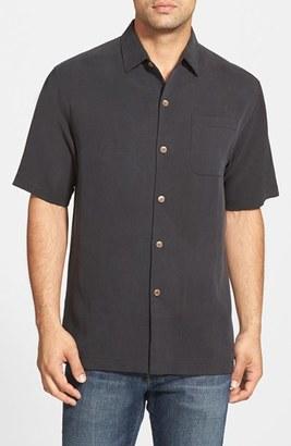 Tommy Bahama 'San Clemente' Original Fit Silk Camp Shirt $110 thestylecure.com