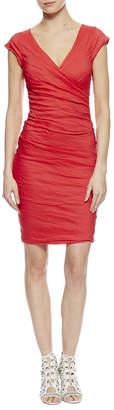 Nicole Miller Beckett Cotton Metal Dress