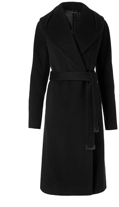 Olive Wool Coat $598 thestylecure.com
