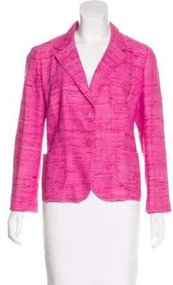 Prada Silk Tweed Blazer