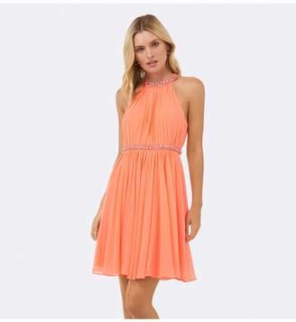 Ever New Alya Embellished Neck Dress