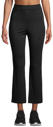 Cushnie et Ochs High-Waist Cropped Active Pants w/ Slit Sides