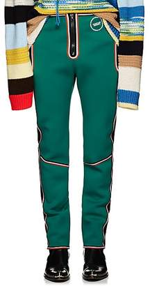Calvin Klein Men's Striped Neoprene Scuba Pants - Black