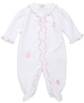 Kissy Kissy Baby's Craving Cupcake Cotton Footie