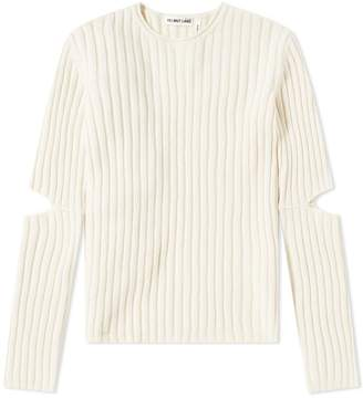 Helmut Lang 1997 Re-Edition Elbow Cut Out Sweater
