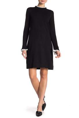 Vince Camuto Long Sleeve Knit Dress