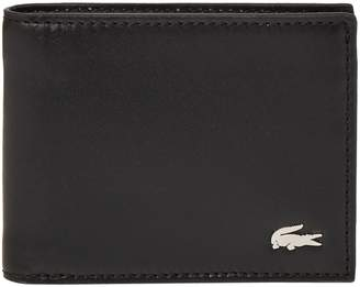 Lacoste Small Leather Billfold Wallet