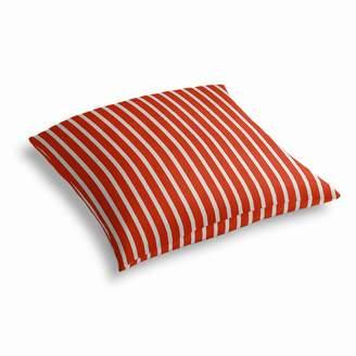 Loom Decor Simple Outdoor Floor Pillow Sunbrella® Shore - Flame