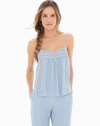 In Bloom Seashore Stripe Pajama Cami