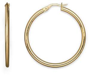 Roberto Coin 18K Yellow Gold Round Hoop Earrings
