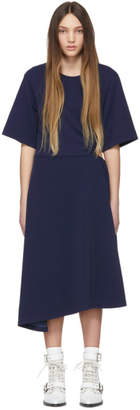 See by Chloe Navy Side Cut-Out Dress