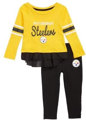 Outerstuff NFL Team Logo Top & Leggings Set