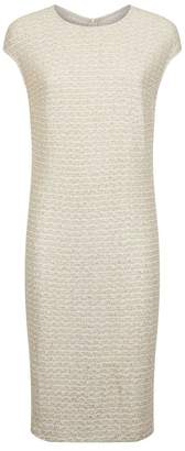 St. John Sequin Embellished Knit Dress