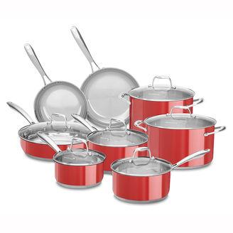 Kitchen Aid KitchenAid 14-pc. Stainless Steel Cookware Set