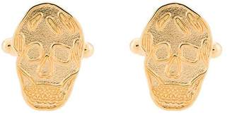 Alexander McQueen skull patterned cufflinks