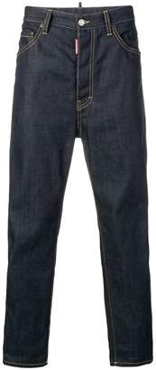DSQUARED2 high rise tapered jeans