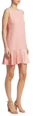 Theory Flirty Flare Ruffle Dress
