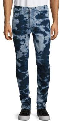 Laboratory LT Man Bleached Out Straight-Leg Jeans