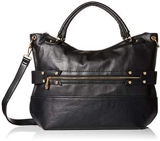 MG Collection Oversize Weekender Convertible Top Handle Bag